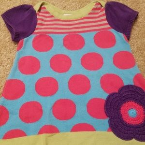 Hanna Andersson 6-12 mo knit dress
